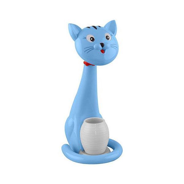 Настольная лампа Horoz Felix синяя 049-028-0006 цена