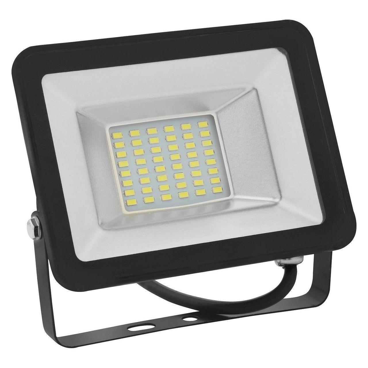 Прожектор светодиодный Horoz 20W 6400K 068-003-0020 (HL176LE) horoz прожектор светодиодный horoz puma hl176le 20w 1000lm 6400k ip65 hrz00001136
