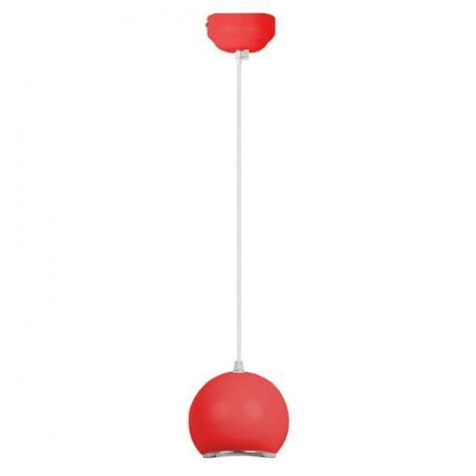 Подвесной светодиодный светильник Horoz 10W 6400K красный 020-001-0010 (HL870L)