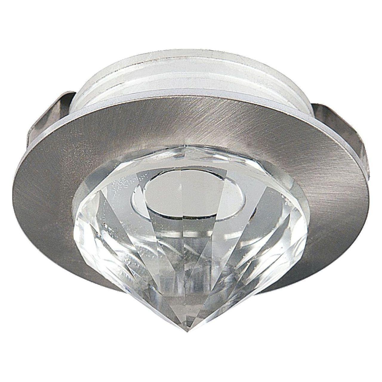 Встраиваемый светодиодный светильник Horoz Nadia 1W 2700К матовый хром 016-027-0001 (HL661L) встраиваемый светодиодный светильник horoz nadia 1w 6400к матовый хром 016 027 0001