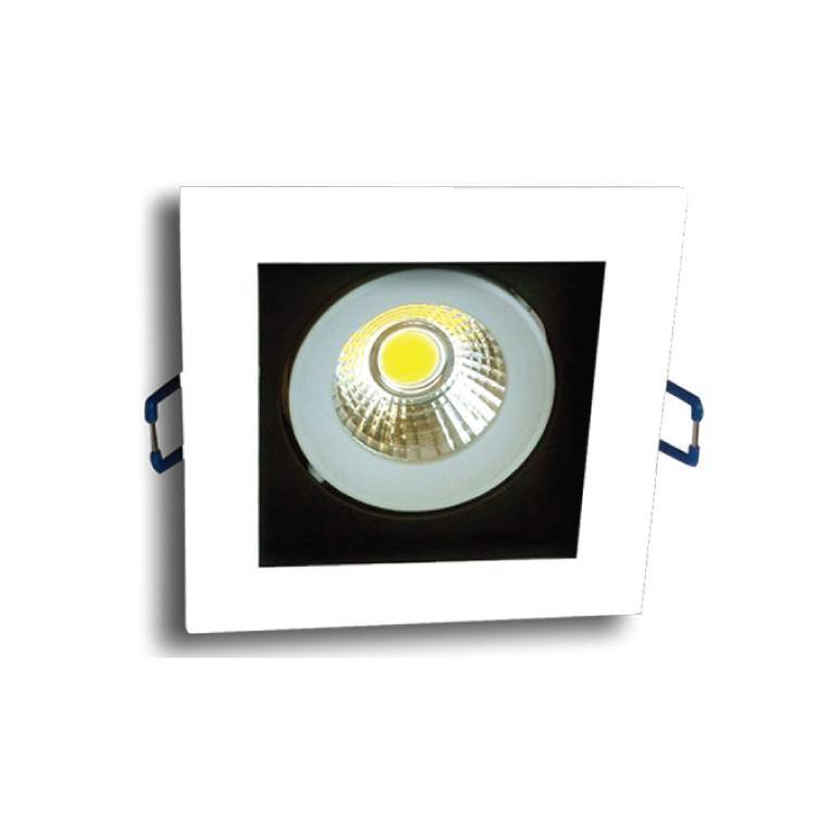 Встраиваемый светодиодный светильник Horoz 8W 2700К белый 016-023-0008 (HL6721L) встраиваемый светодиодный светильник horoz 8w 6500к 016 020 0008 hl692l