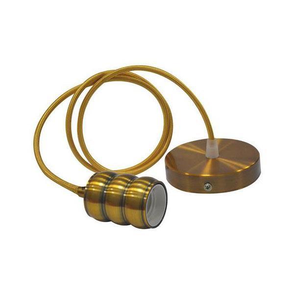 Подвесной светильник Horoz Gauss золото 021-009-0001 805 109 524 021 средняя