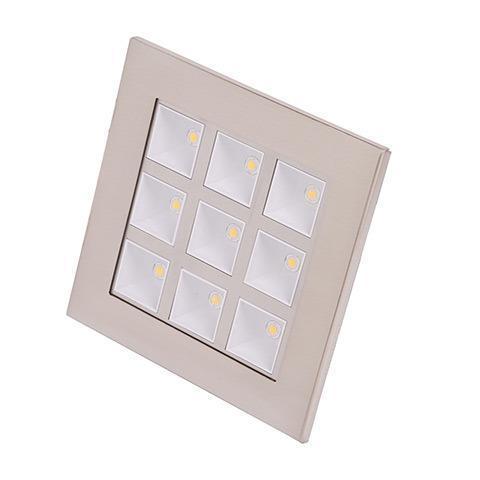 цена на Встраиваемый светодиодный светильник Horoz 9W 2700К (HL681L)