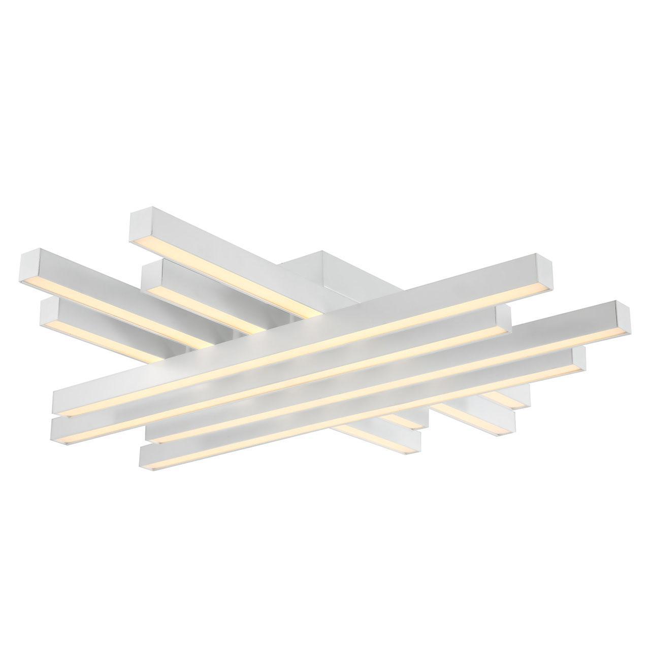 Потолочный светодиодный светильник Horoz Trend белый 019-009-0085 подвесной светодиодный светильник horoz asfor черный 019 011 0085