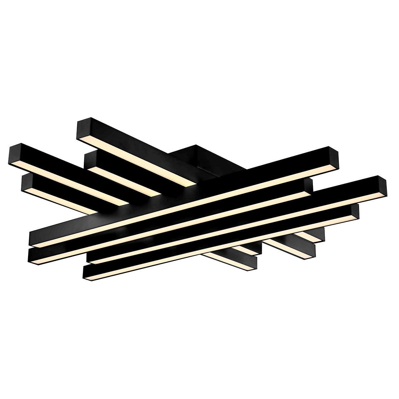 Потолочный светодиодный светильник Horoz Trend черный 019-009-0085 подвесной светодиодный светильник horoz asfor черный 019 011 0085