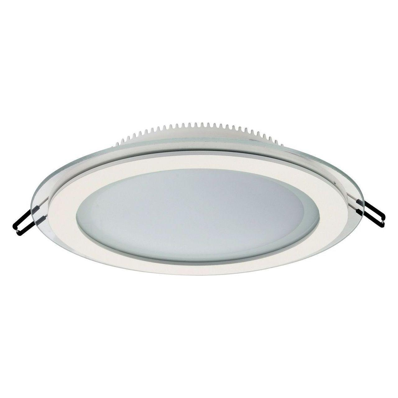 Встраиваемый светодиодный светильник Horoz 15W 6400K белый 016-016-0015 (HL689LG) встраиваемый светодиодный светильник horoz 15w 6000к белый 016 017 0015 hl6756l