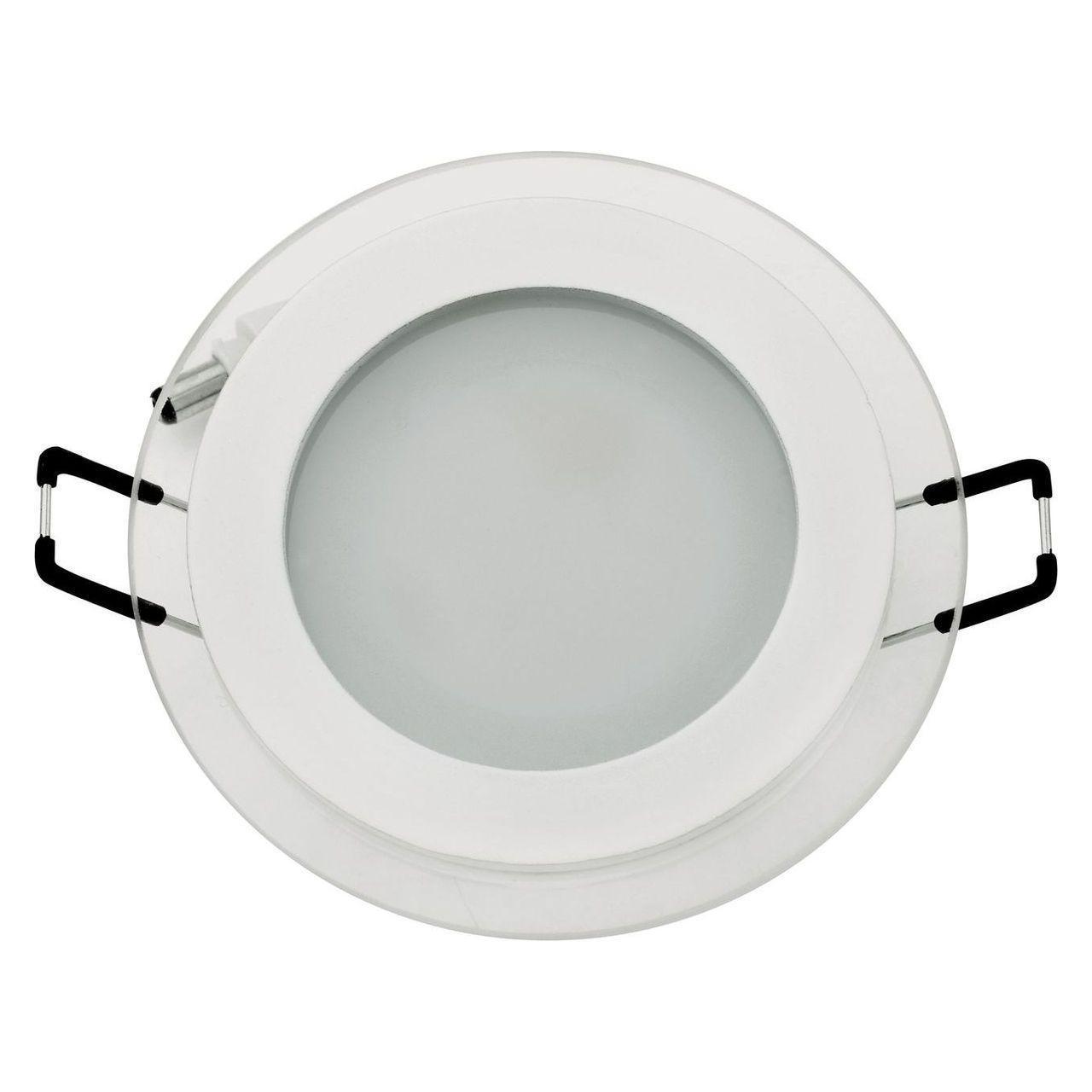 Встраиваемый светодиодный светильник Horoz 6W 3000K белый 016-016-0006 (HL687LG) встраиваемый светодиодный светильник horoz 15w 6000к белый 016 017 0015 hl6756l