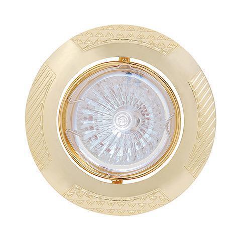 Встраиваемый светильник Horoz Leylak золото 015-013-0050 (HL797)