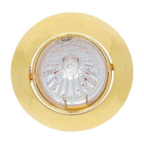 Встраиваемый светильник Horoz Yonca HL799 золото 015-015-0050 (HL799) neo 16 015