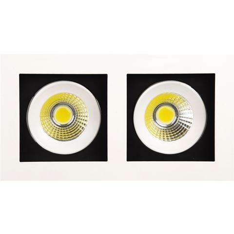 Встраиваемый светодиодный светильник Horoz 2X8W 6400K белый 016-023-0016 (HL6722L)