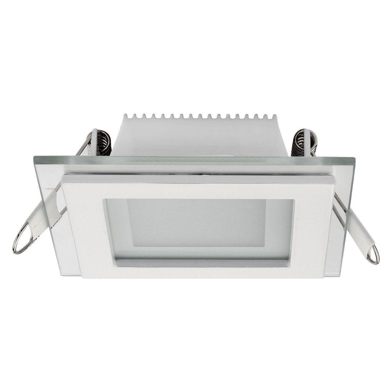 Встраиваемый светодиодный светильник Horoz 6W 3000K белый 016-015-0006 (HL684LG)