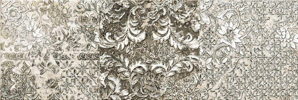 Декор Ibero Dec Batik White B 25х75 цена