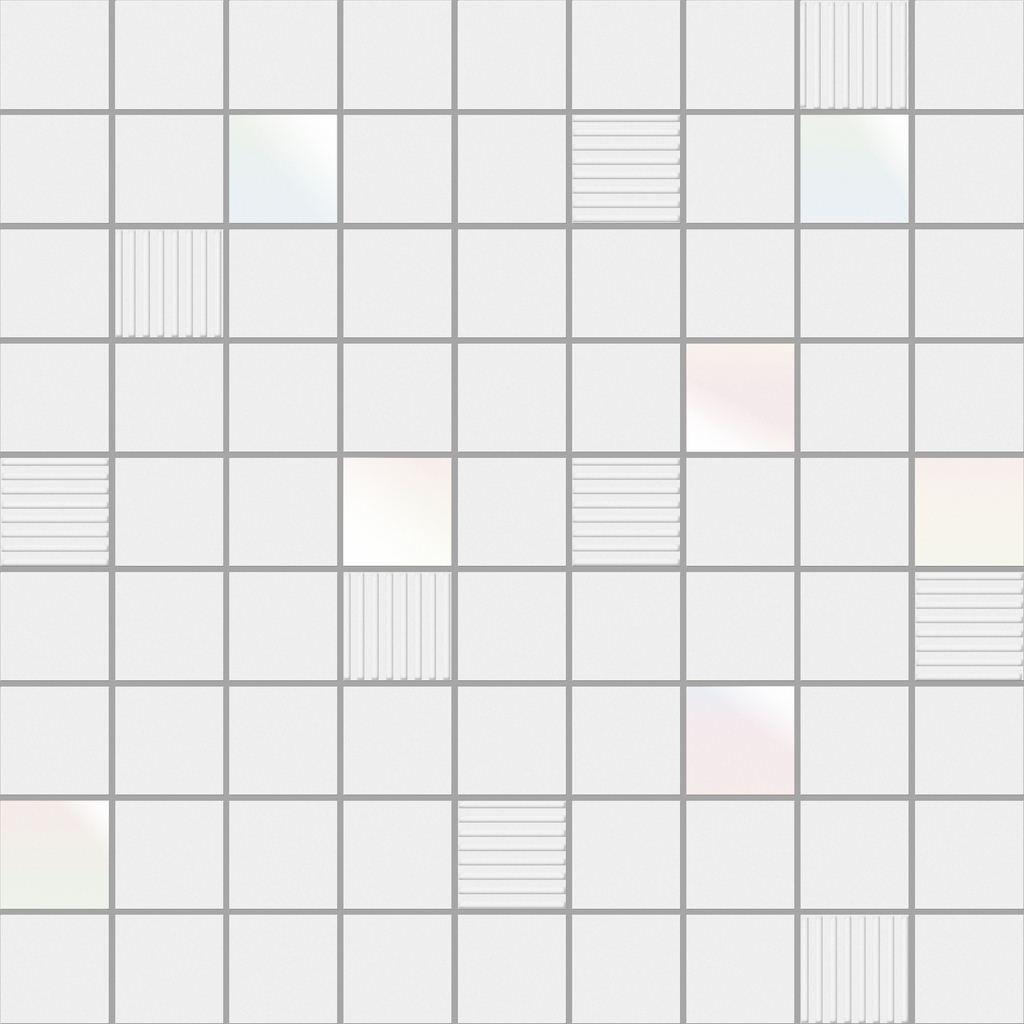 Декор Ibero Mos. Cubic White 31,6х31,6 радиотелефон gigaset a120 white