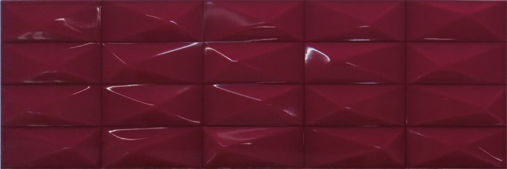 Настенная плитка Ibero Claire Amaranto 25х75 настенная плитка ibero decor versalles vanilla 25х75