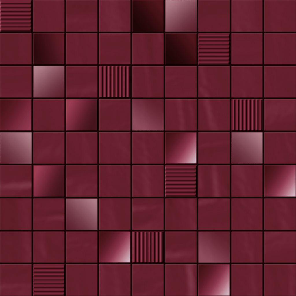 Мозаика Ibero Mosaico Perlage Amaranto 31,6х31,6 цена