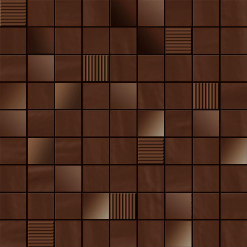 Мозаика Ibero Mosaico Perlage Cacao 31,6х31,6 ibero black