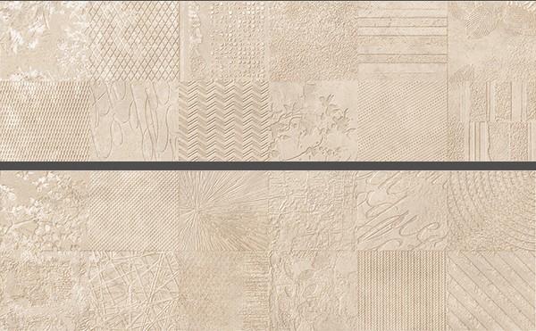 Настенная плитка Ibero Neutral +25298 Decor Atelier Sand Rect. ibero black