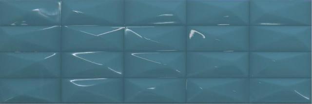 Настенная плитка Ibero Perlage Claire Turquoise 25х75 настенная плитка ibero decor versalles vanilla 25х75
