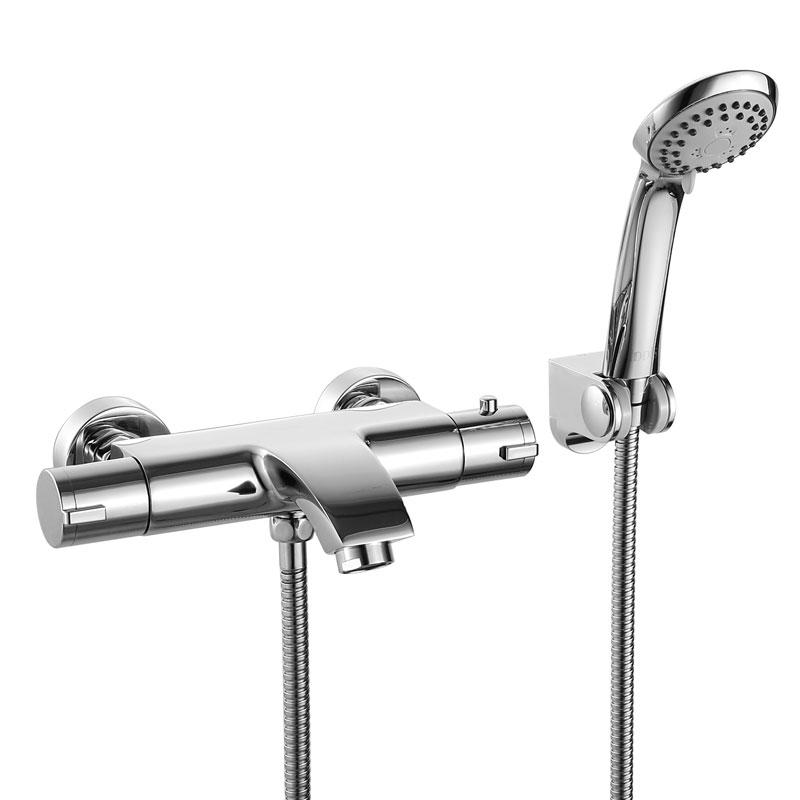 Купить смеситель с термостатом для душа и ванны Акриловая ванна Black&White Galaxy GB5008 L