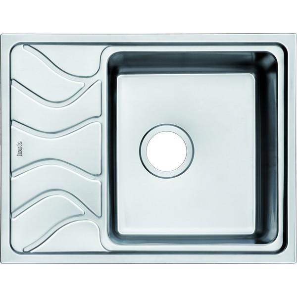 лучшая цена Кухонная мойка Iddis Reeva S REE61SRi77 шелк
