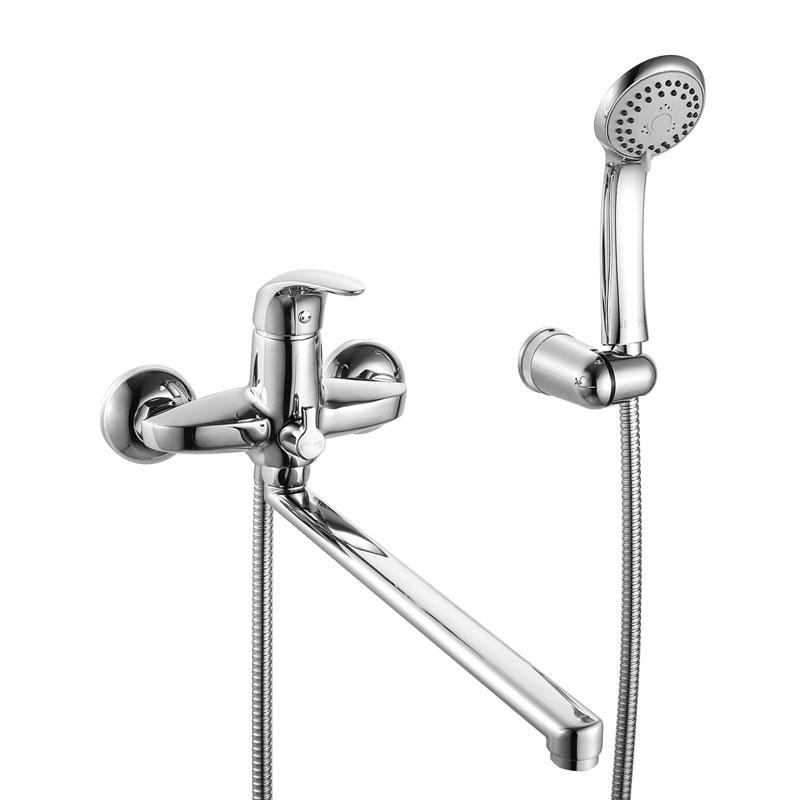 Смеситель Iddis Leaf LEASBL0i10 для ванны смеситель для ванны iddis monet с аксессуарами monsb00i02