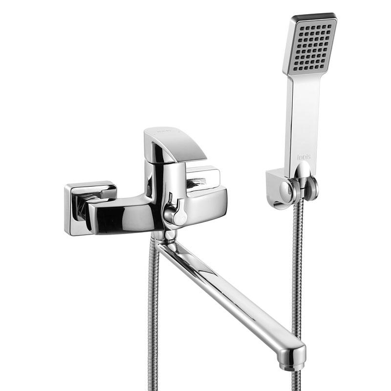 Смеситель Iddis Vane VANSBL0i10 для ванны смеситель для ванны iddis monet с аксессуарами monsb00i02