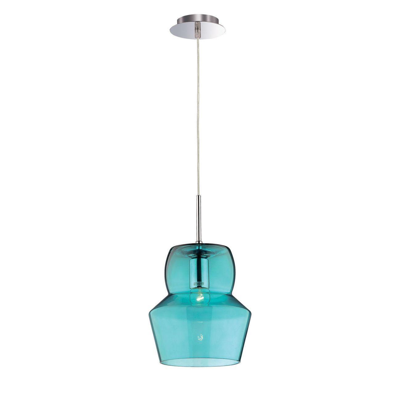 Подвесной светильник Ideal Lux Zeno SP1 Big Azzurro картина модульная milarte 80 х 125 см v 315