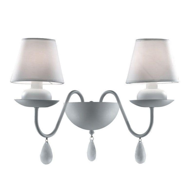 Бра Ideal Lux Blanche AP2 Bianco ideal 45 777