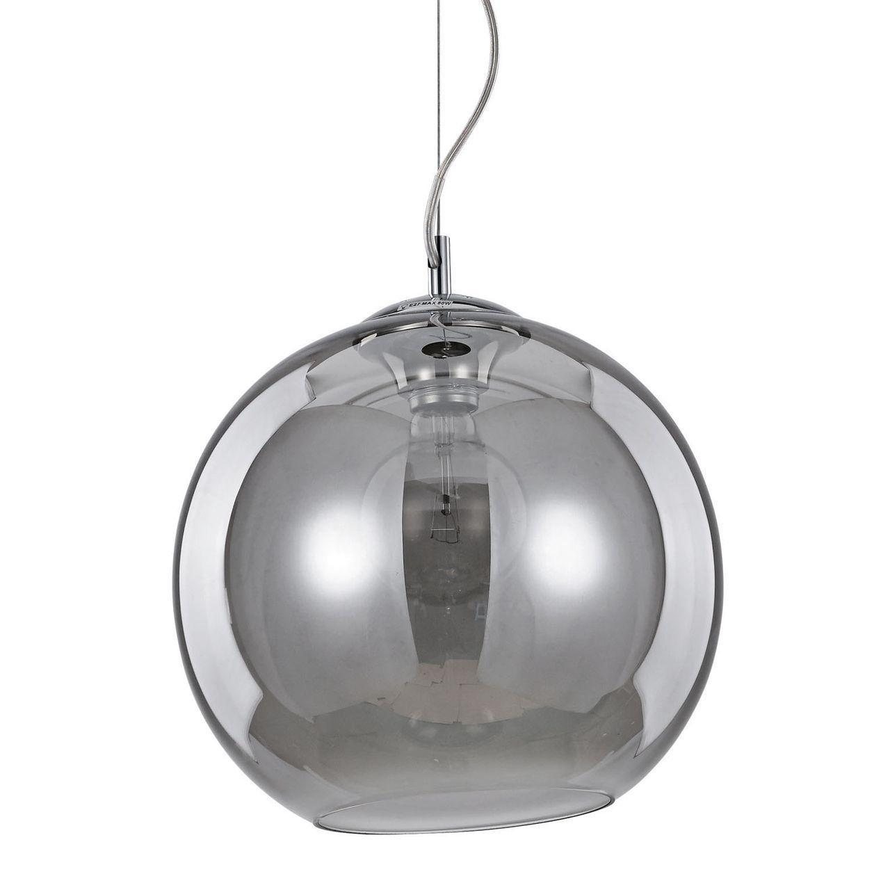 Подвесной светильник Ideal Lux Nemo SP1 D30 Fume ideal lux подвесной светильник ideal lux nemo fume sp1 d50