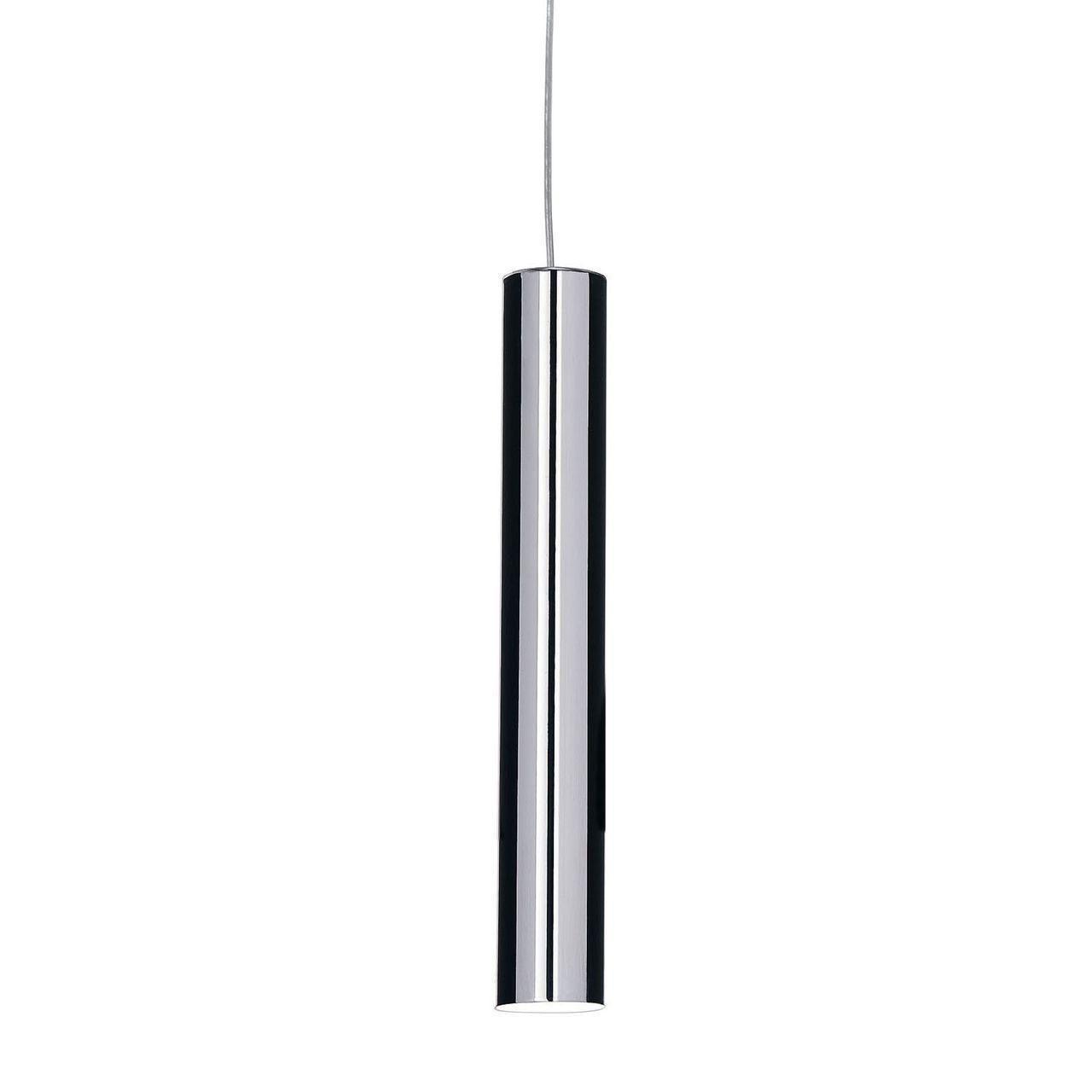 Подвесной светодиодный светильник Ideal Lux Ultrathin SP1 Small Cromo подвесной светодиодный светильник ideal lux desk sp1
