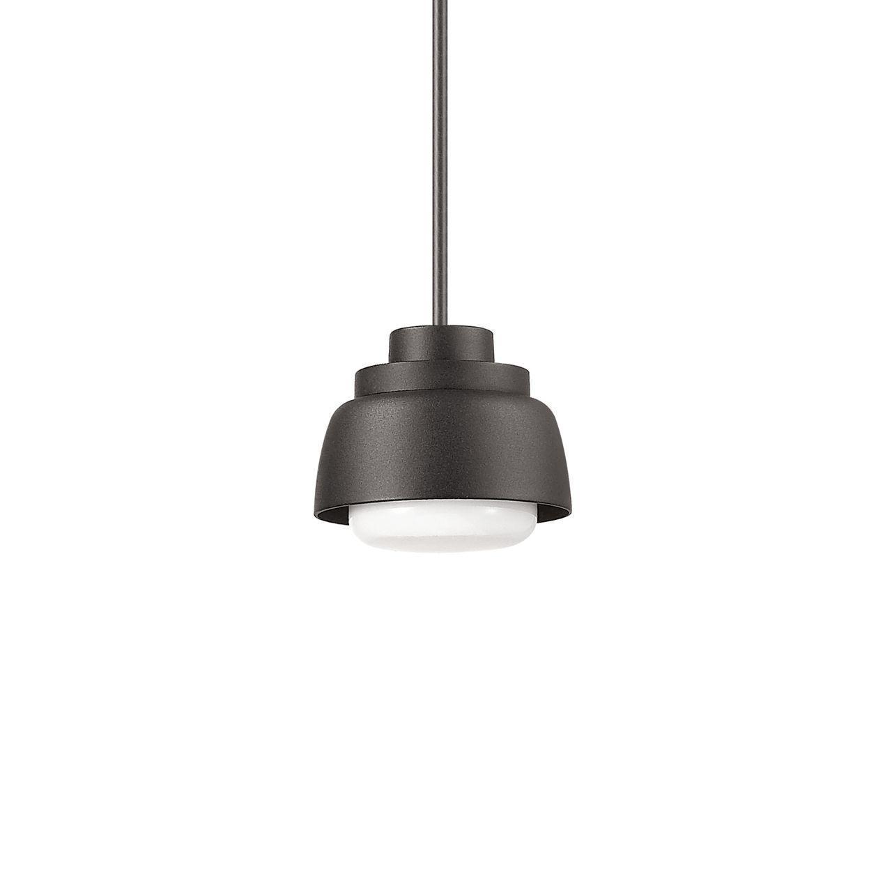 Уличный подвесной светодиодный светильник Ideal Lux Marmalade SP1 Nero подвесной светодиодный светильник ideal lux desk sp1