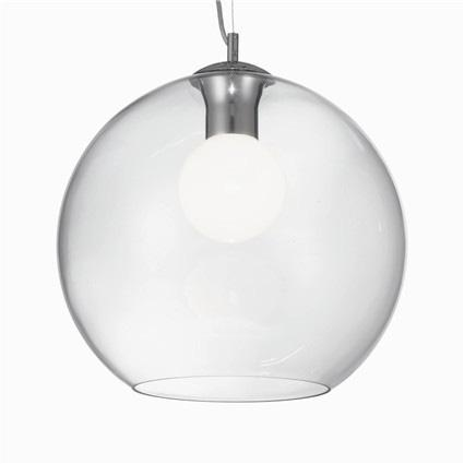 Подвесной светильник Ideal Lux Nemo Clear SP1 D40 подвесной светильник ideal lux nemo sp1 d40 rame
