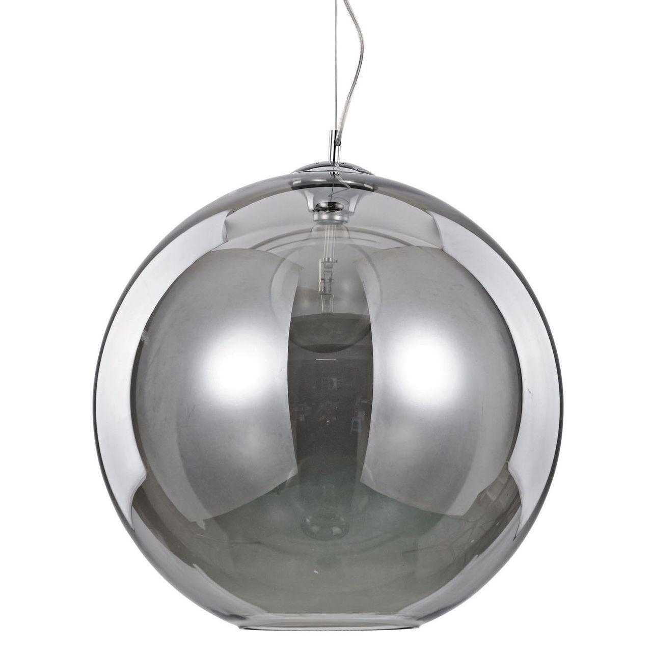 Подвесной светильник Ideal Lux Nemo SP1 D50 Fume ideal lux подвесной светильник ideal lux nemo fume sp1 d50