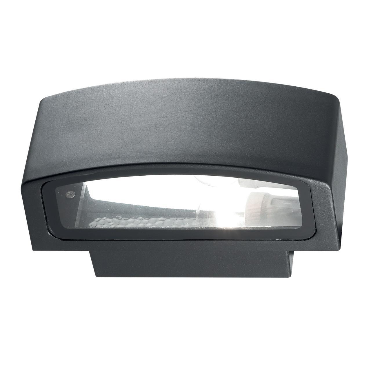 Уличный настенный светильник Ideal Lux Andromeda AP1 Nero ideal lux уличный настенный светильник ideal lux twin ap1 nero