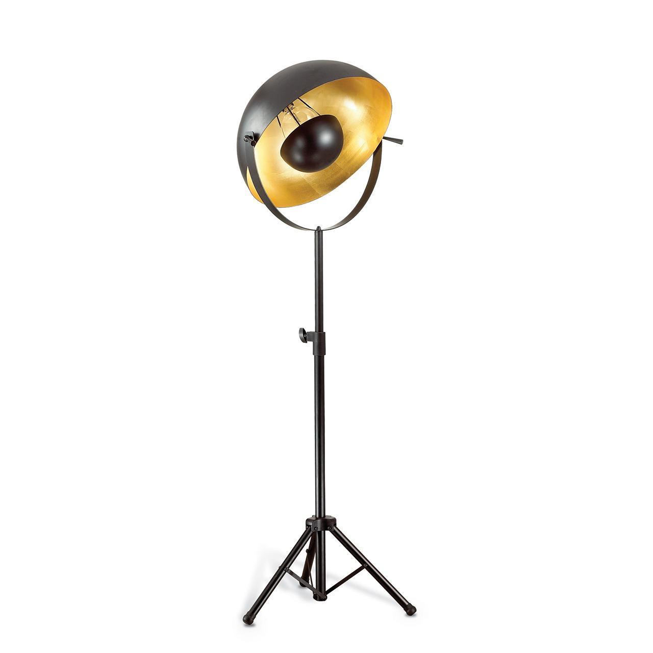 Торшер Ideal Lux Stage PT1 Foglia Oro ideal lux люстра ideal lux foglia bi2 small