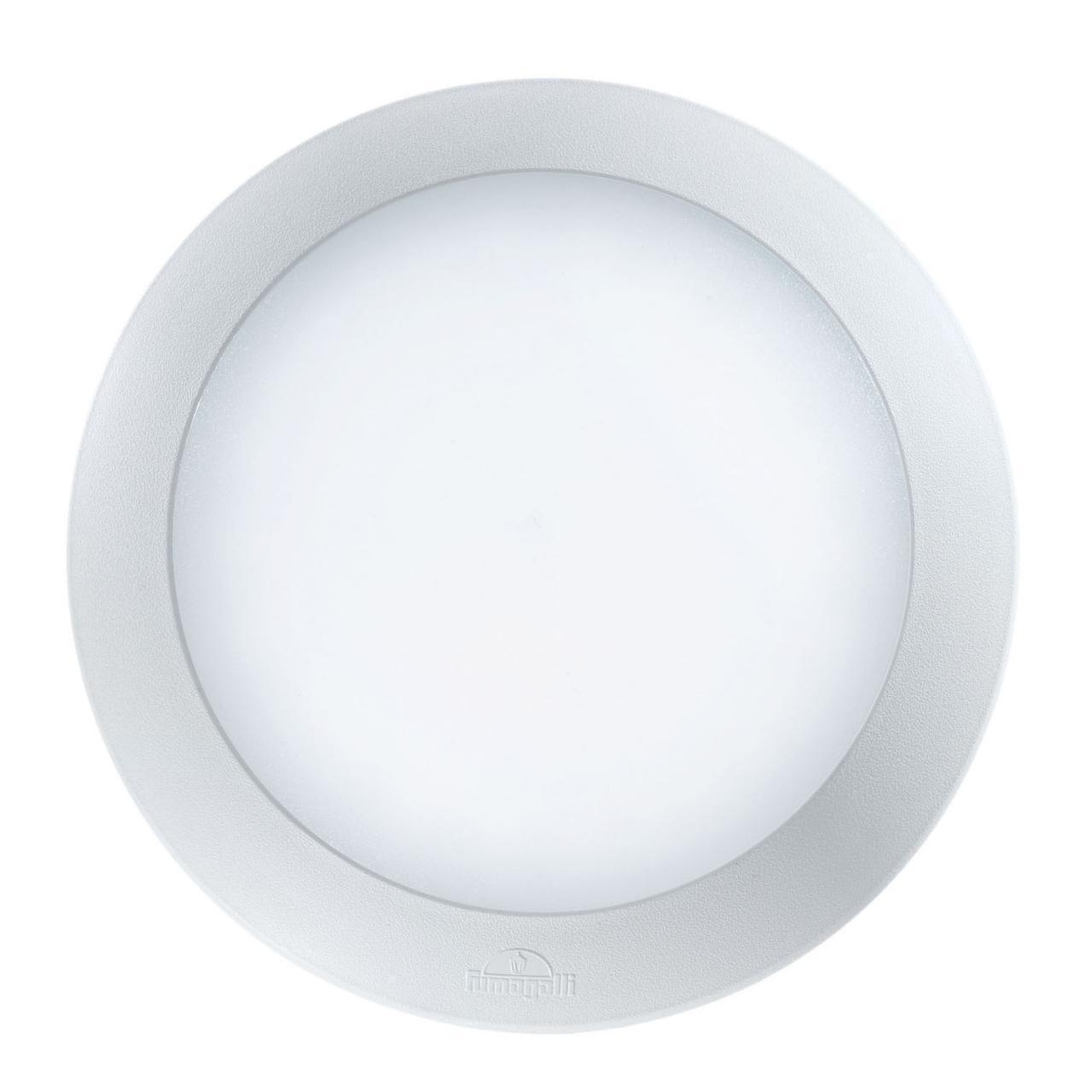 Уличный настенный светодиодный светильник Ideal Lux Berta AP1 Medium Bianco ideal lux уличный настенный светодиодный светильник ideal lux berta ap1 big grigio
