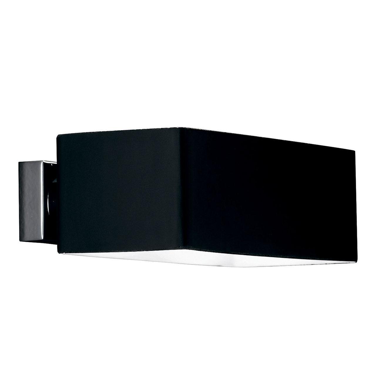 Настенный светильник Ideal Lux Box AP2 Nero цена 2017