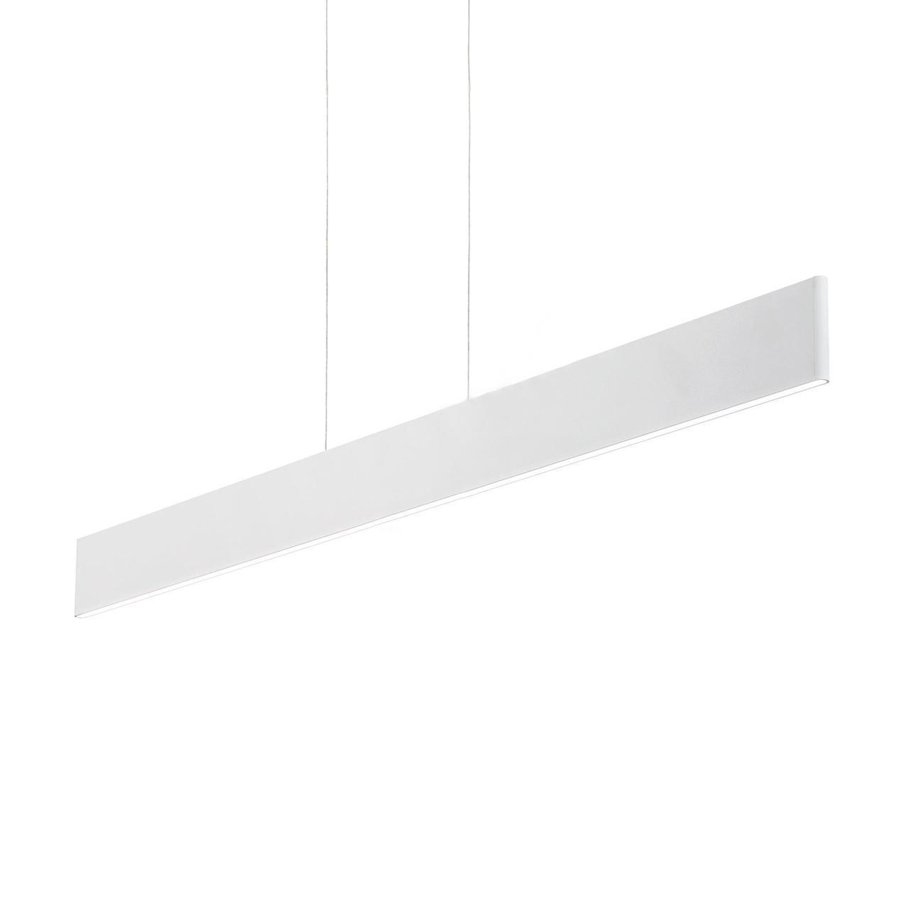 Подвесной светодиодный светильник Ideal Lux Desk SP1 подвесной светодиодный светильник ideal lux desk sp1