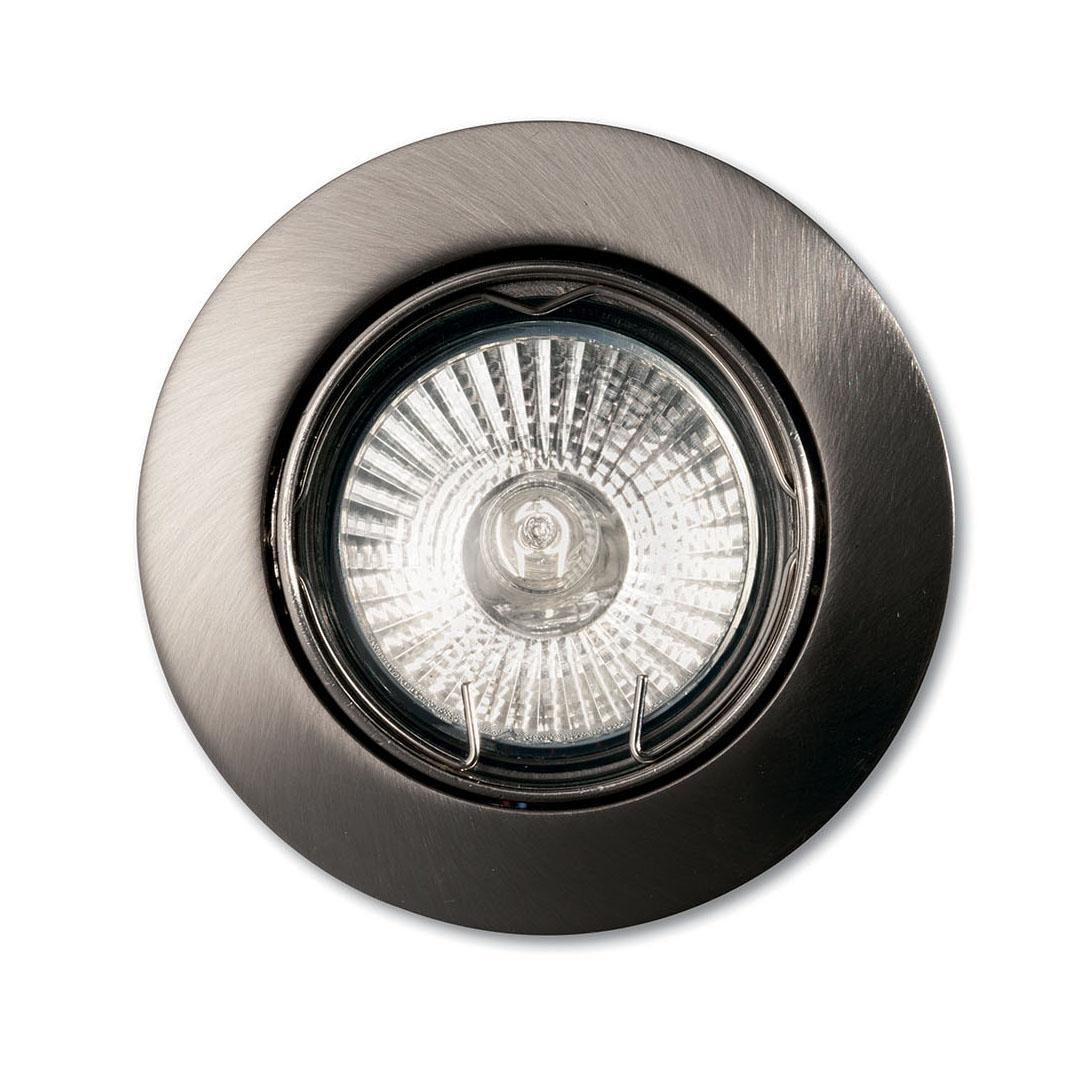 Встраиваемый светильник Ideal Lux Swing Nickel ideal lux встраиваемый светильник ideal lux swing bianco