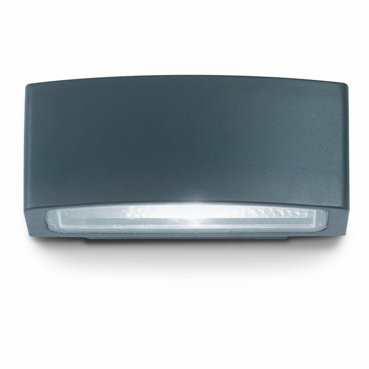 Уличный настенный светильник Ideal Lux Andromeda AP1 Antracite ideal lux уличный настенный светильник ideal lux rex 1 ap1 antracite