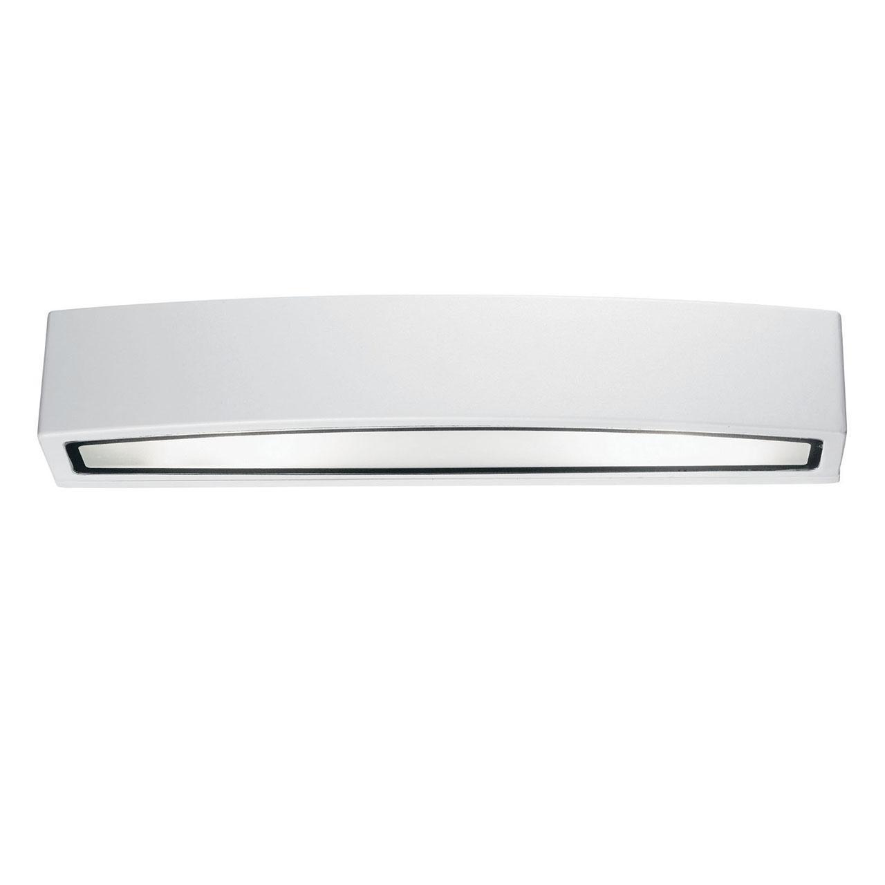 Уличный настенный светильник Ideal Lux Andromeda AP2 Bianco