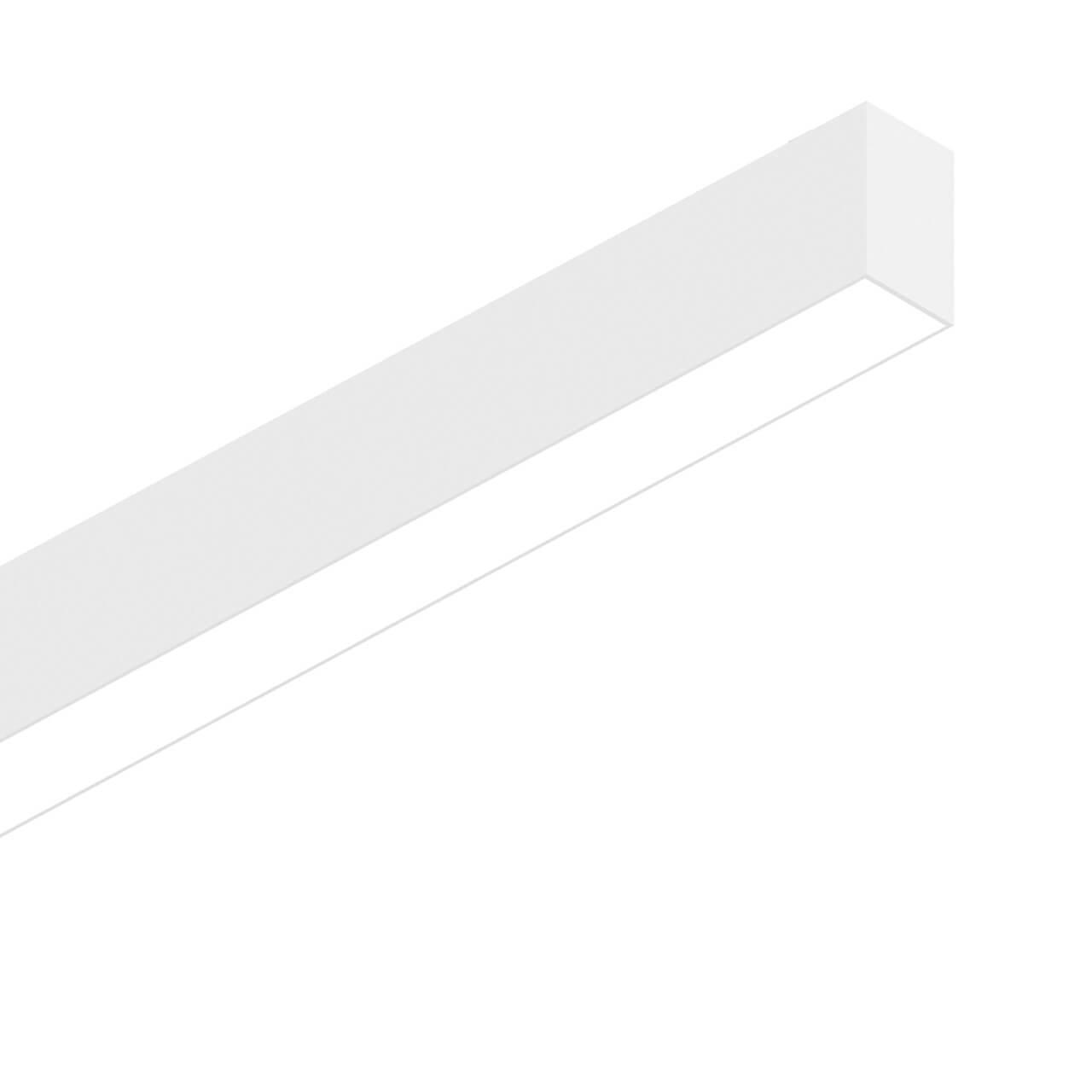 Подвесной светодиодный светильник Ideal Lux Fluo Wide 1800 3000K White diy 3w 3000k 315lm warm white light round cob led module 9 11v