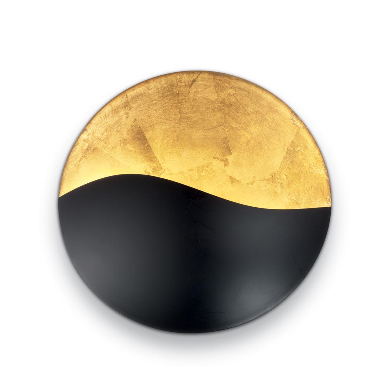 Настенный светильник Ideal Lux Sunrise AP3 Nero E Oro oro nero пиджак
