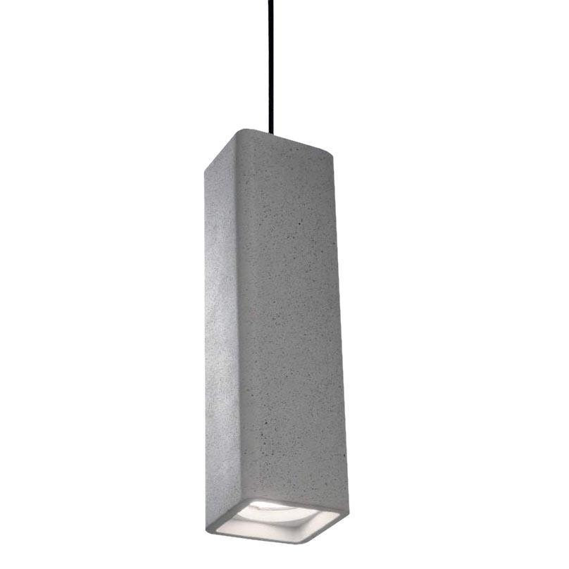Подвесной светильник Ideal Lux Oak SP1 Square Cemento ideal record valley oak 601l 4м