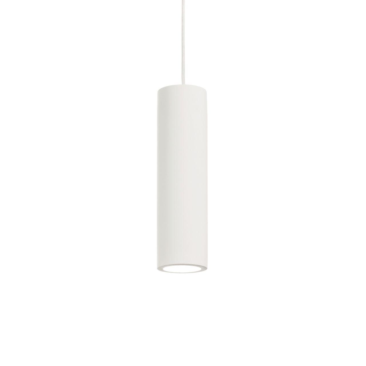 Подвесной светильник Ideal Lux Oak SP1 Round Bianco ideal lux подвесной светильник ideal lux bistro sp1 round fume