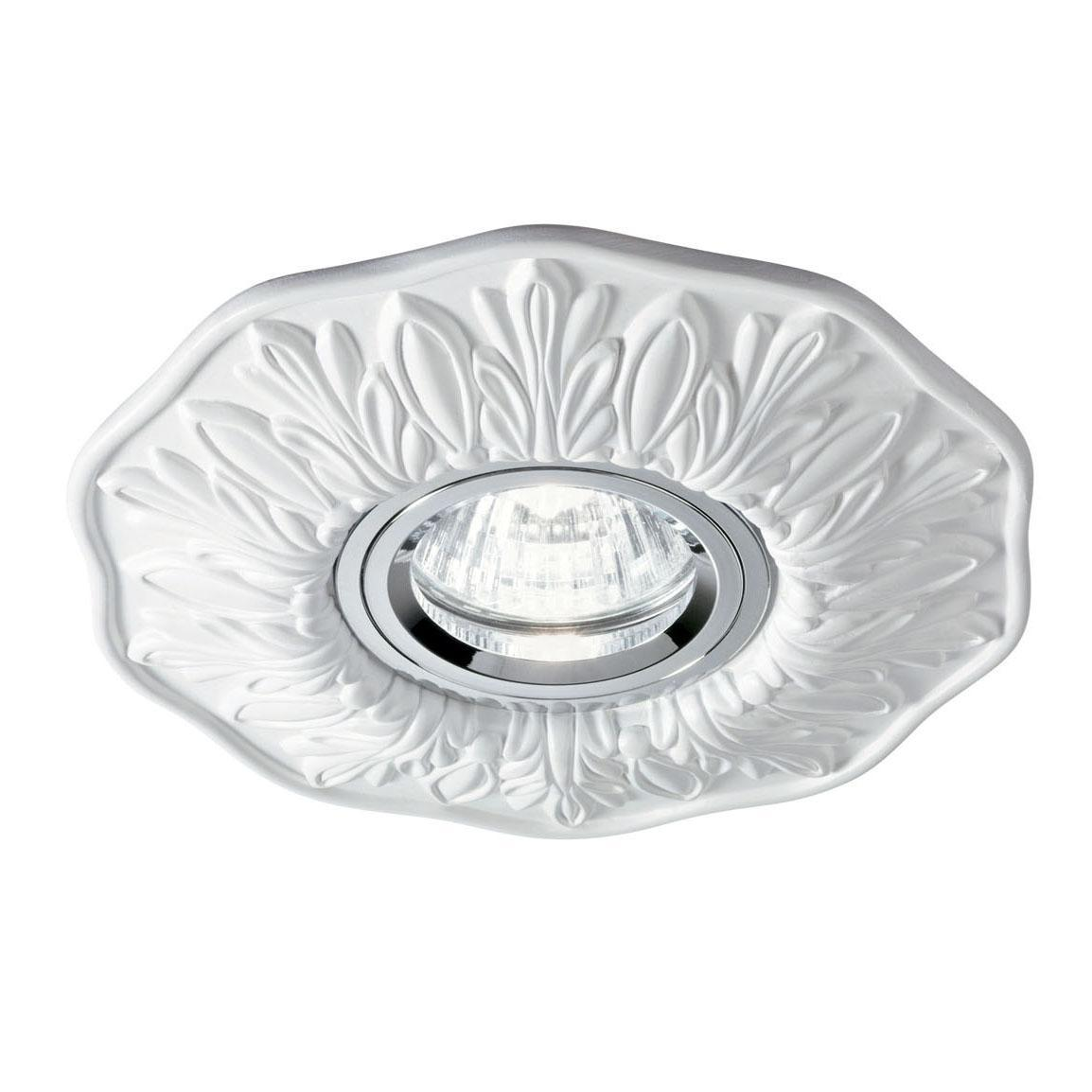 Встраиваемый светильник Ideal Lux Polka Bianco ideal lux встраиваемый светильник ideal lux swing bianco