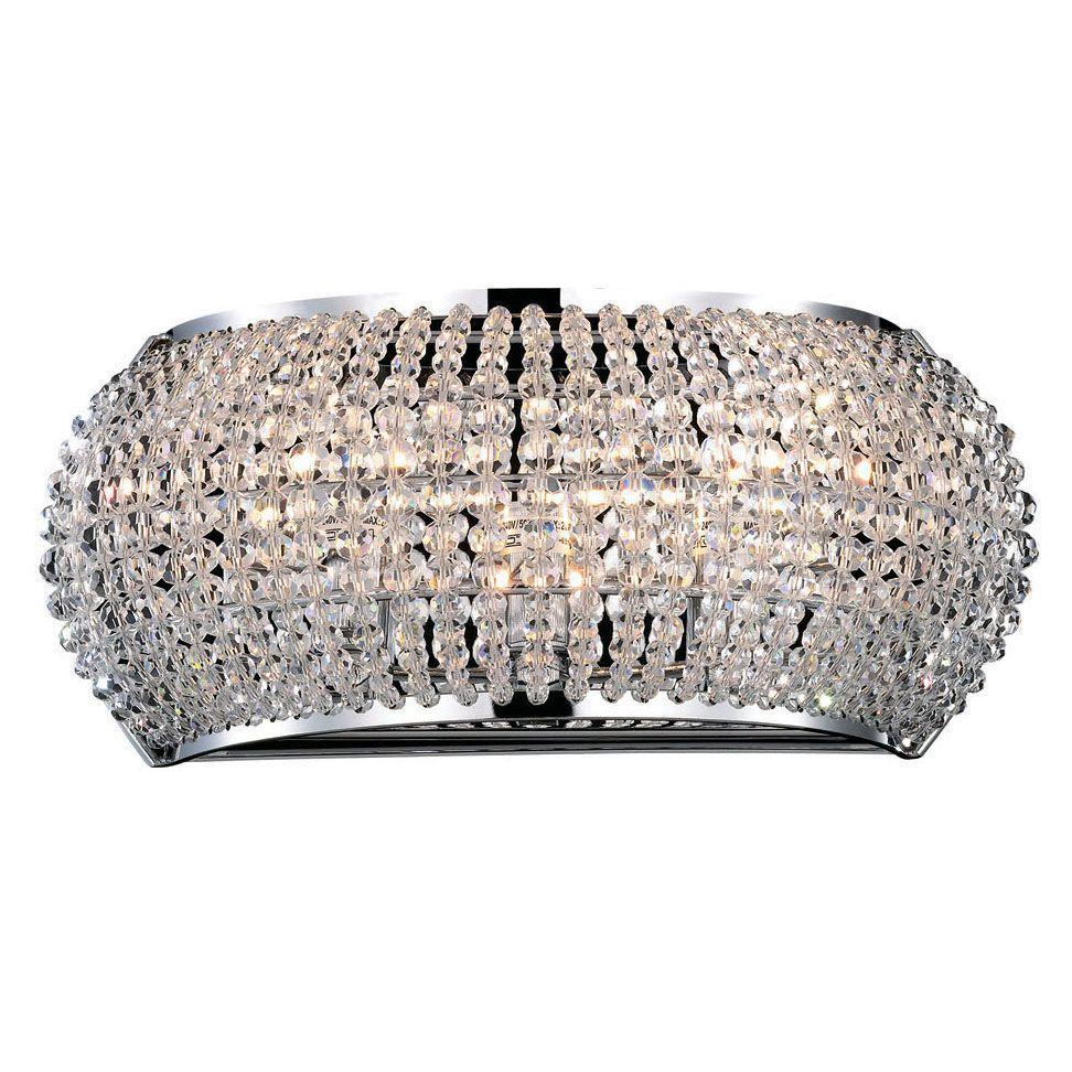 Настенный светильник Ideal Lux Pasha AP3 Cromo