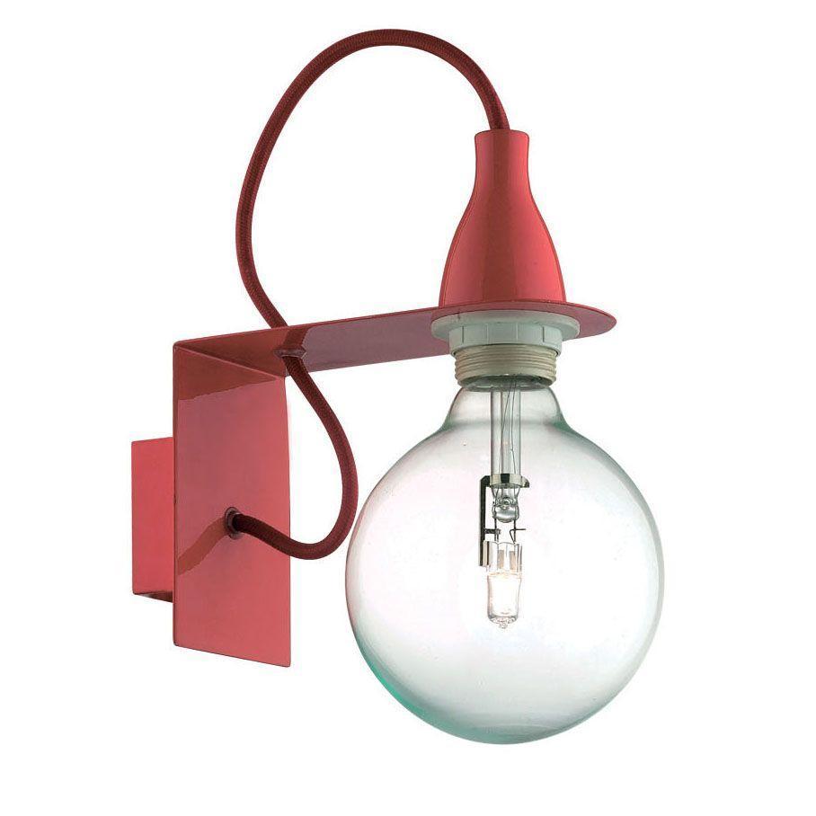 Бра Ideal Lux Minimal AP1 Rosso цена