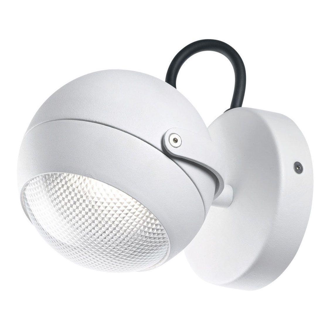 Уличный настенный светильник Ideal Lux Zenith AP1 Bianco ideal lux настенный спот ideal lux zenith ap1 bianco