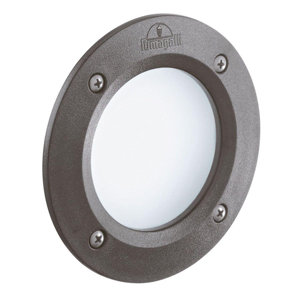 Уличный светодиодный светильник Ideal Lux Leti FI1 Round Grigio ideal lux уличный светодиодный светильник ideal lux leti round fi1 grigio